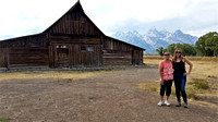 Brenda and Ginny in Grand Teton, WY